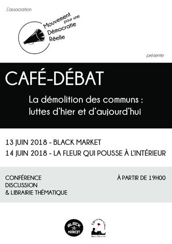Café débat - La démolition des communs: luttes d'hier et d'aujourd'hui